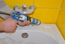 Как правильно силиконить ванну
