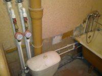Как заменить стояк холодной воды в квартире