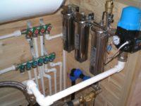 Как правильно развести воду в частном доме