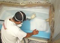 Как покрыть ванну эмалью в домашних условиях
