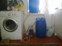 Как запустить стиральную машину без водопровода