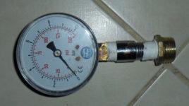 Как проверить давление воды в квартире