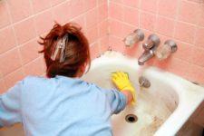 Как почистить чугунную ванну в домашних условиях