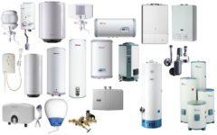 Газовые нагреватели воды для дома