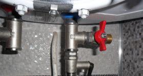 Сливной вентиль для водонагревателя
