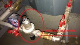 Как сделать подпитку воды в систему отопления